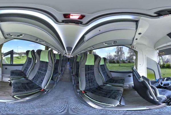 360 виртуален тур Автобус Юнион Ивкони